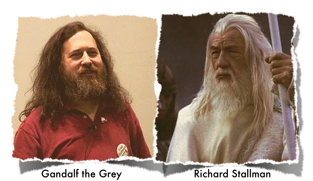 Stallman. Gandalf. Are they perhaps related?